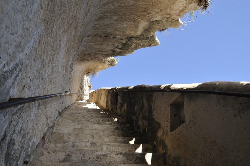 A escadaria do rei de Aragão