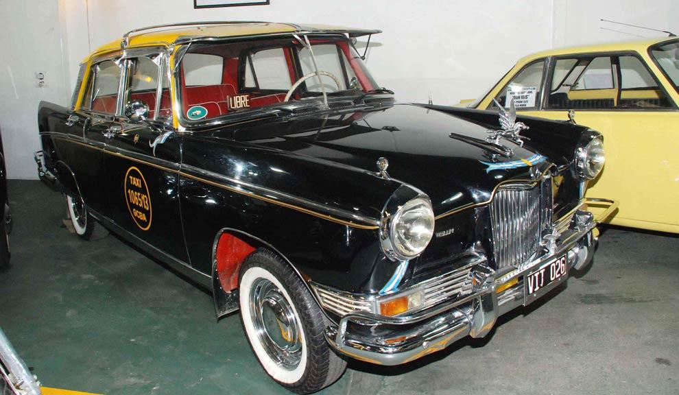 Monumento aos motoristas de táxis argentinos
