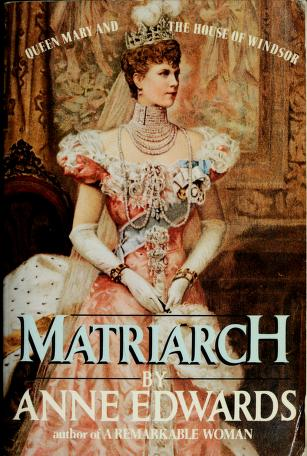 Cover of: Matriarch | Anne Edwards