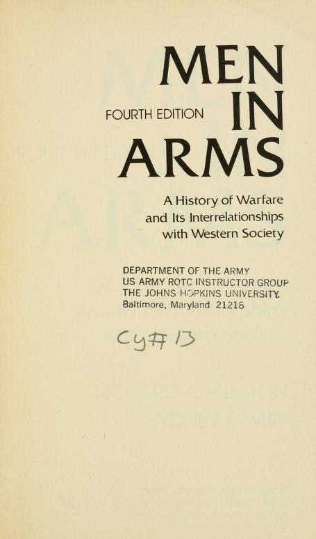 Men in arms by Richard Arthur Preston