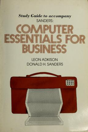 Cover of: Study guide to accompany Sanders | Leon Adkison